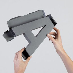 Burano Letra 3D
