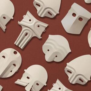Mascaras Shiro